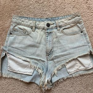 BDG High Rise Shorts from Urban Outfitters